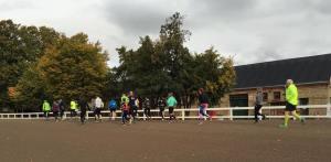 Træning på Charlottelund Travbane